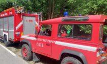 """Due escursionisti si perdono vicino a Fossato, recuperati dal """"Drago"""" dei Vigili del Fuoco"""