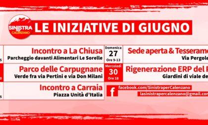 Sinistra per Calenzano, le iniziative di giugno