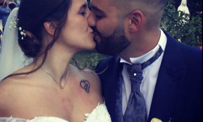 Fiori d'arancio in Forza Italia: si è sposato il coordinatore comunale Angelo-Victor Caruso