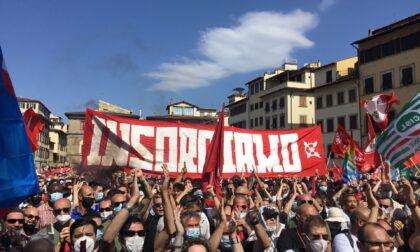"""Firenze in piazza: """"Siamo tutti Gkn"""""""