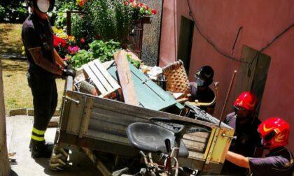 Incidente col mezzo agricolo a Cavarzano (Vernio): in ospedale in codice giallo