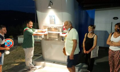 Salgono a 8 i fontanelli pubblici a Carmignano