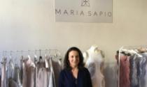 La grande avventura di Maria Sapio,  stilista che ha inaugurato il suo nuovo atelier a Sesto Fiorentino ma che vive a Pistoia
