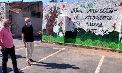 Un murale per L'Avvenire