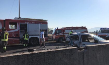 A11 incidente casello Prato ovest: traffico in tilt