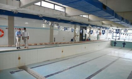 Sopralluoghi ai cantieri di palestre e piscine