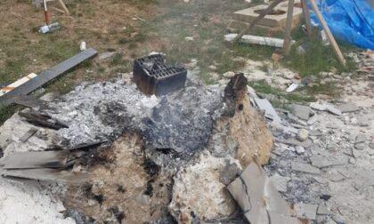 Brucia rifiuti speciali a Vicchio, colto sul fatto dai Carabinieri Forestali