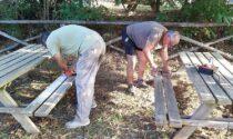 Padule di Fucecchio: al Centro Visite della Riserva Naturale restaurati tavoli e panche