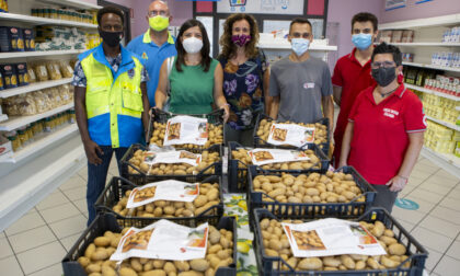 Emporio Solidale, consegnati dalla cooperativa Lo Spigolo, oltre 170 chili di patate novelle di Stibbio