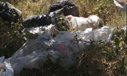 Rifiuti abbandonati a Moriano, intervento degli ispettori ambientali