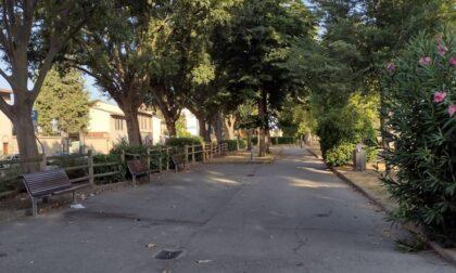 Controlli della Polizia Municipale al giardino di Santa Rosa