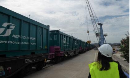 Alla ripresa dei lavori, Idra ricevuta dall'ad di Infrarail Raffaele Zurlo: visita al cantiere della stazione Foster