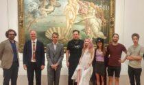 Visita a sorpresa di Elon Musk agli Uffizi