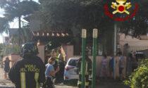 Perde il controllo dell'auto e distrugge tubatura del gas e muro di recinzione: paura in via di Gello a Prato