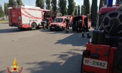 I vigili del fuoco toscani in viaggio verso la Calabria