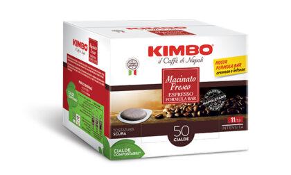 Le nuove cialde Kimbo Macinato Fresco sono intense, cremose e dal packaging sostenibile