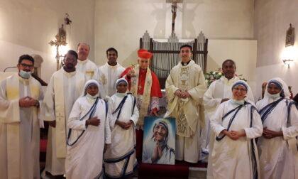 Il Cardinale Ernest Simoni a Brozzi nel giorno dedicato a Santa Madre Teresa di Calcutta