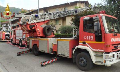 Incendio in un appartamento a Santa Lucia
