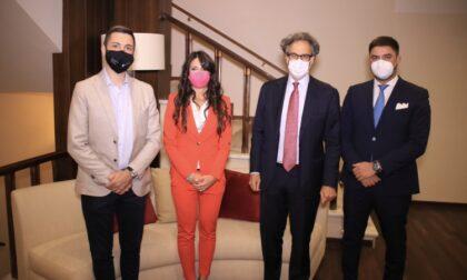 Giovani di Confindustria Toscana Nord ospiti di Paolo Marcucci