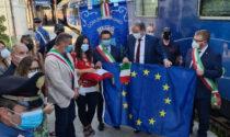 """A Vaiano il treno dell'Europa. I sindaci: """"L'Europa ci aiuti a potenziare la Direttissima"""""""