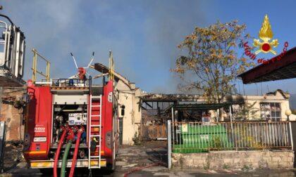 Incendio di Montemurlo, situazione sotto controllo