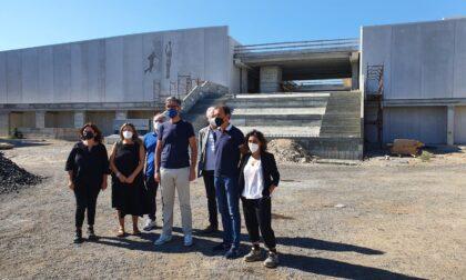 Il cantiere del polo sportivo di San Paolo prosegue secondo i tempi previsti