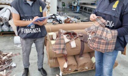 Scoperta stamperia clandestina del lusso: sequestrati oltre 200mila marchi contraffatti