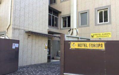 Accolti nell'Hotel Covid 556 positivi