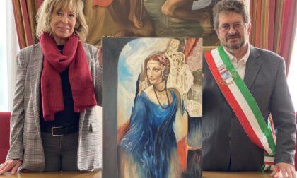 """""""La dama senza ermellino""""  donata al Comune"""